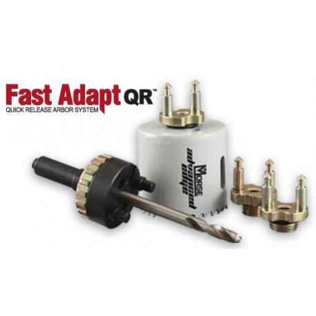 Rapide Adapter QR Quick Release système Arbor